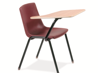 Honor Roll Fixed Tablet Arm Chair